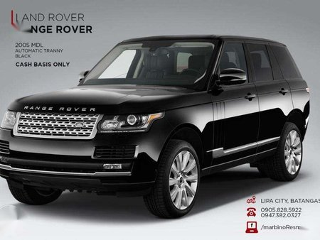 For Range Rover 2005 Automatic Gas Black