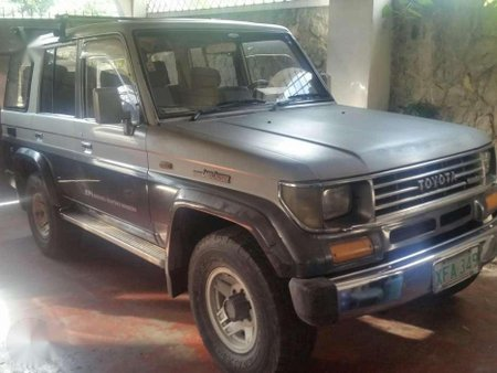 1992 Toyota Landcruser Automatic 4x4 Silver For Sale