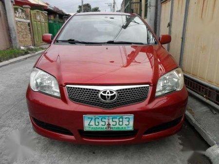 toyota vios 1 3 e 2007 manual red for sale 361197 rh philkotse com Vios Toyota Indonesia Top Speed Toyota Vios