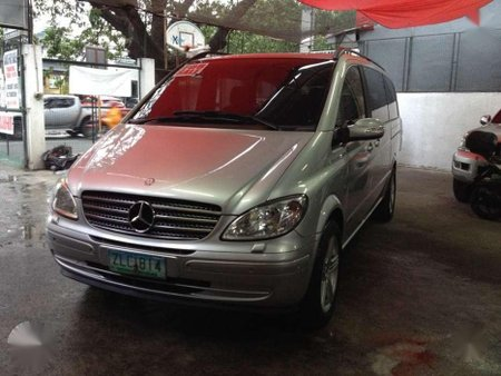 2007 Mercedes Benz Viano 3.0 V6 Gas Silver For Sale