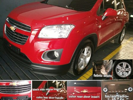 For sale CHEVROLET TRAX LS AT 2017 for 58k down
