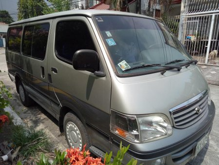 Toyota Hiace 2016 Manual Gasoline P240,000 for sale