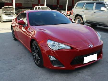 Well-maintained Scion FR-S 86 2013 for sale