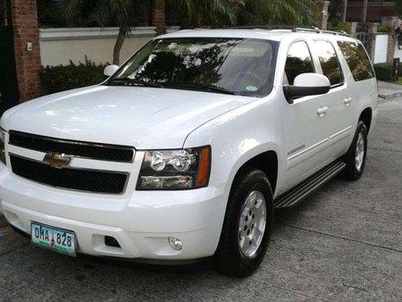 2011 Chevrolet Suburban White for sale