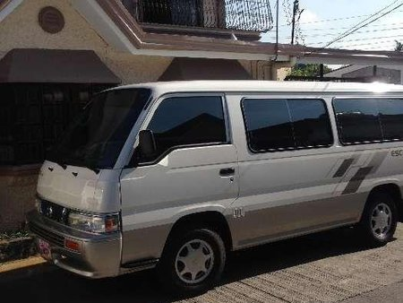 Nissan Escapade 2015 Manual White Van For Sale