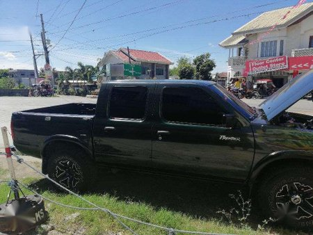Nissan Frontier 2001 3.2 AT Black Pickup For Sale