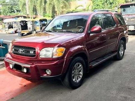 Toyota Sequoia 2003 in pristine condition for sale