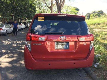 2017 Toyota Innova 2.8 J Grab Ready for sale