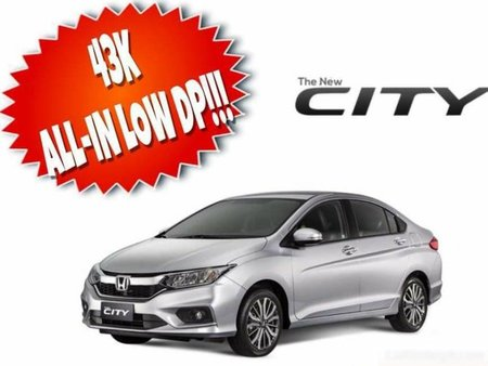 Honda Cars All In Downpayment