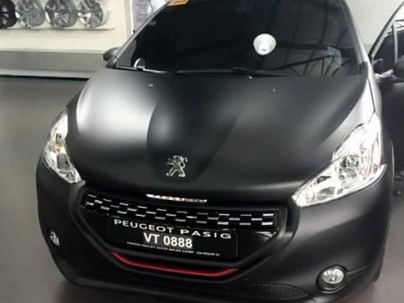 Peugeot 208 gti matte black foilacar worth 150k 30th edition
