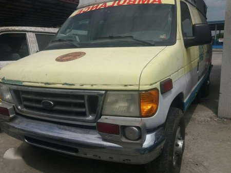 1984 Ford E350 diesel engine ambulance for sale
