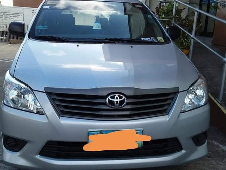 2013 Toyota Innova J MT DSL Silver for sale