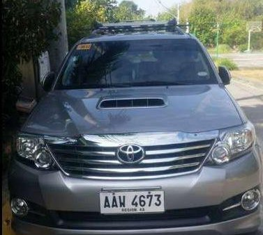 2015 Toyota Fortuner G for sale