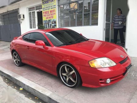 Hyundai Genesis Coupe Tuscani 2 Door Sports Car 2002 For