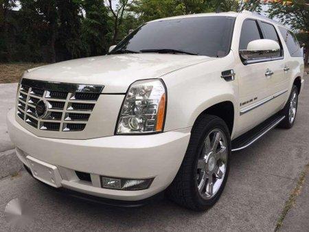 Cadillac Escalade ESV white pearl LWB 2007 FOR SALE