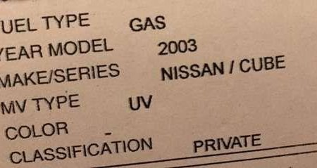 Nissan Cube 2003 Model FOR SALE