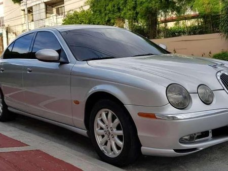 2004 Jaguar S Type Leather interior