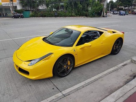 For sale well kept 2011 Ferrari 458