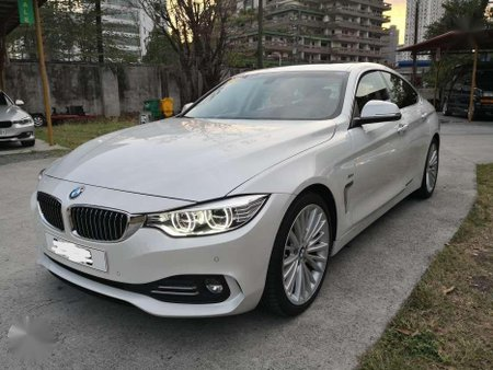 2017 BMW 420D Grand Coupe - 2.0 twin turbo diesel engine