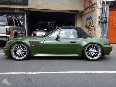 Bmw Z3 Wide Body Z3 Green For Sale 434672