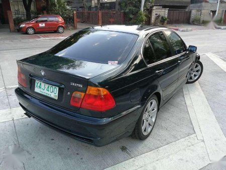 BMW 325i AT 2001 Black Well Maintained For Sale