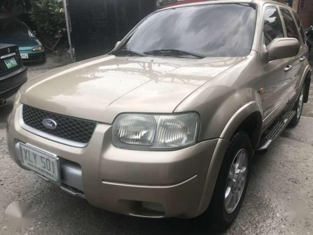 Ford Escape 4wd 2004 Matic Nt Xtrail Everest CRV Rav4 Explorer Tucson