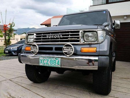 Well-maintained Land Cruiser 70 2002 for sale