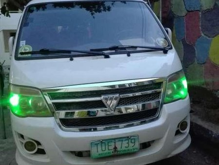 Good as new Foton View 2012 for sale