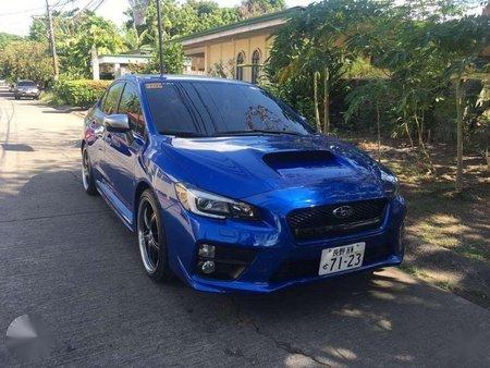 2017 Subaru Impreza Wrx Turbo Automatic
