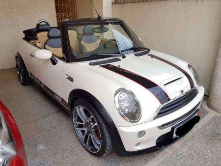 2007 Mini Cooper S Cabriolet White For Sale