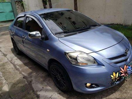 Toyota Vios 1.3 E 2008 Manual Blue For Sale