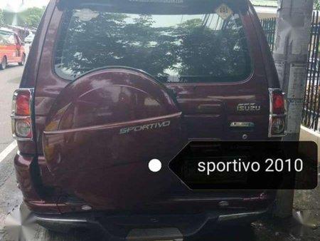 Isuzu Sportivo 2010 for sale