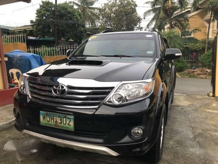 Toyota Fortuner G 2014 D4d turbo diesel engine