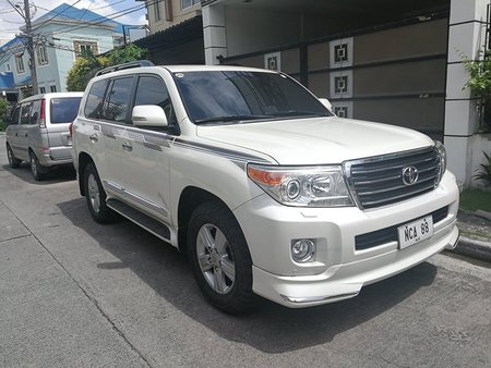 2014 Toyota Land Cruiser 200 White For Sale
