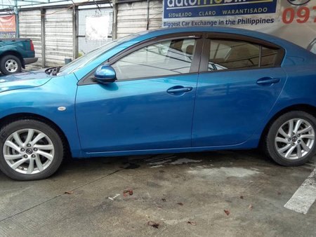 2013 Mazda 3 1.6L S Blue For Sale