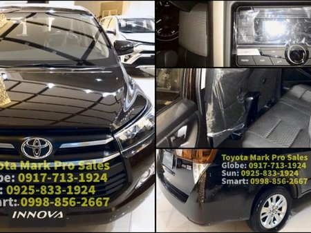 Black 2019 Toyota Innova Automatic Diesel for sale