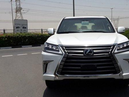Lexus LX 570 SUV 2018 White For Sale