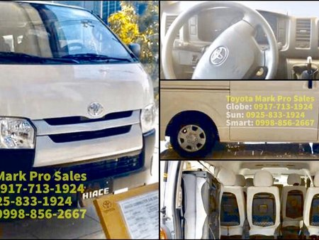 Sell White 2019 Toyota Hiace Van in Cavite City