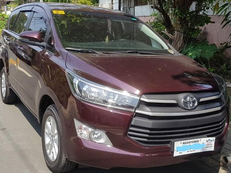 2018 Toyota Innova 2.8E Red For Sale