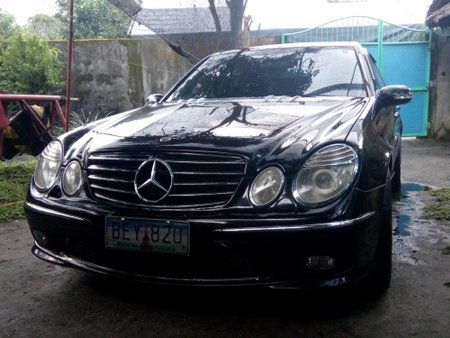 Mercedes-Benz E500 2005 Gasoline Shiftable Automatic Black