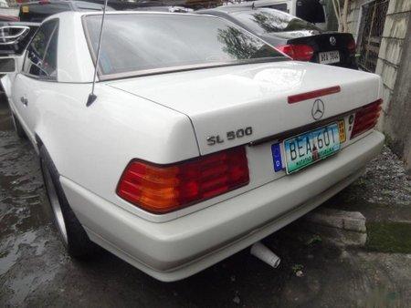 Mercedes-Benz Sl-Class 2001 Gasoline Automatic White