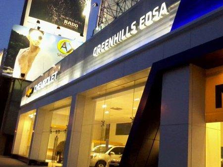 Chevrolet, Greenhills EDSA