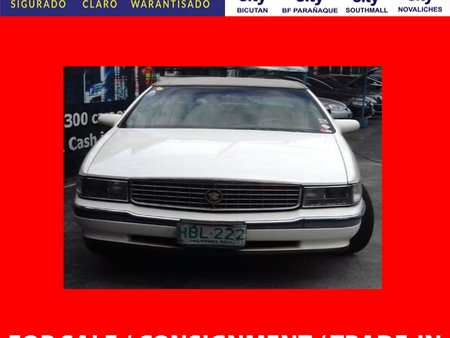 1994 CADILLAC DEVILLE White For Sale
