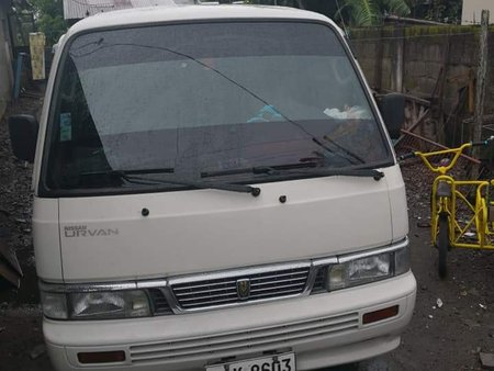 Nissan Urvan 2014 White Van For Sale