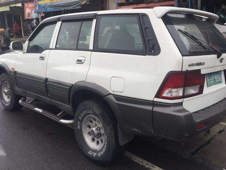 Ssangyong 2002 Musso automatic