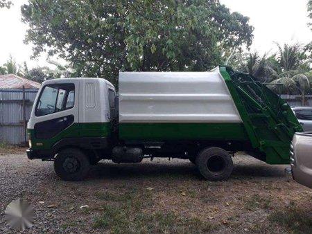 Isuzu Forward Garbage truck, 6d15 engine,
