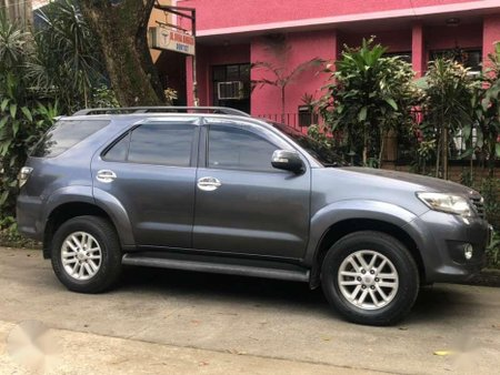 2012 Toyota Fortuner 2 5g Diesel Automatic Grey