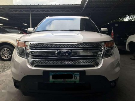 2014 Ford Explorer 2.0 Ecoboost 4x2 Automatic Transmission
