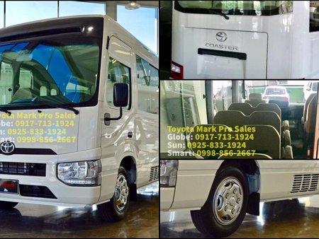 White 2019 Toyota Coaster for sale in Manila