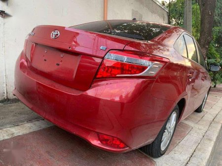 2018 Toyota Vios 13E Automatic Red Mica